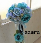 Ocean blue BOUQUET